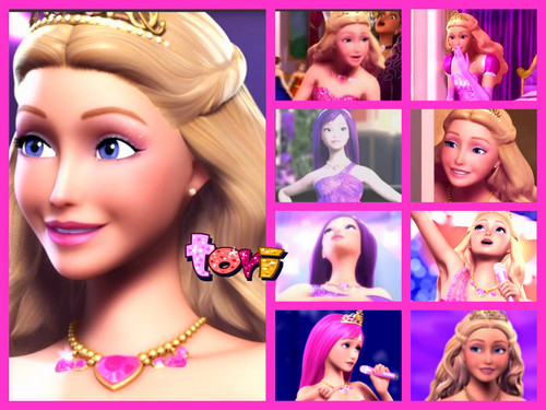 Barbie the Princess and the popstar wallpaper containing a portrait called Tori