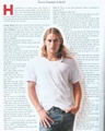 Travis Fimmel interview scan vikings actor history channel