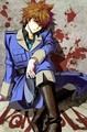 Tsuna dressed up as Italy! X3 - katekyo-hitman-reborn photo