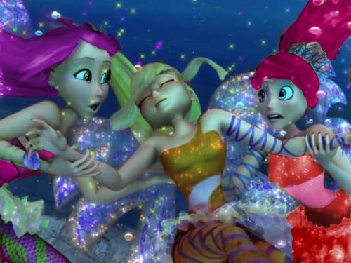 Ty Lee, Stella and Azula Sirenix 3D