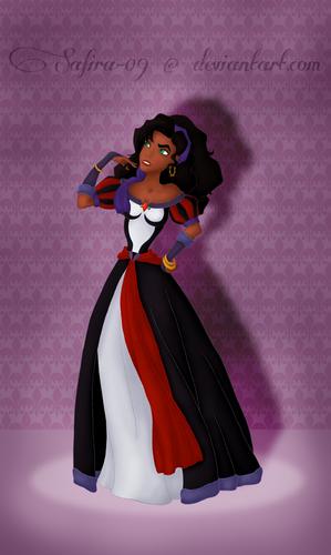 Villain Heroine Esmeralda