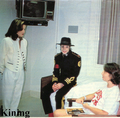 Visiting At. Jude's Hospital Back In 1994 - michael-jackson photo