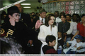 Visiting St. Jude Children's Hospital Back In 1994 - michael-jackson photo