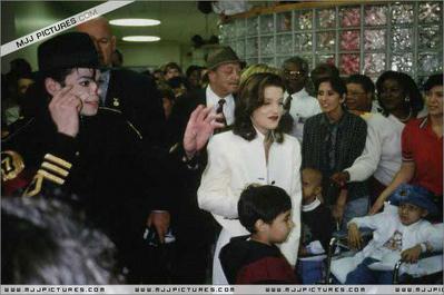 Visiting St. Jude Children's Hospital Back In 1994