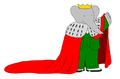 Young King Babar - Mantle - babar-the-elephant fan art