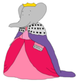 Young Queen Celeste - Palace Ball - babar-the-elephant fan art