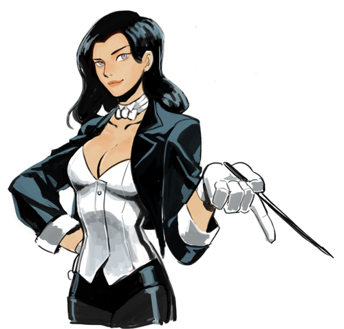 Young Justice wallpaper probably with Anime entitled Zatanna