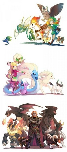 Zelda and Pokemon