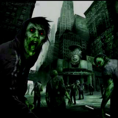 Zombified London