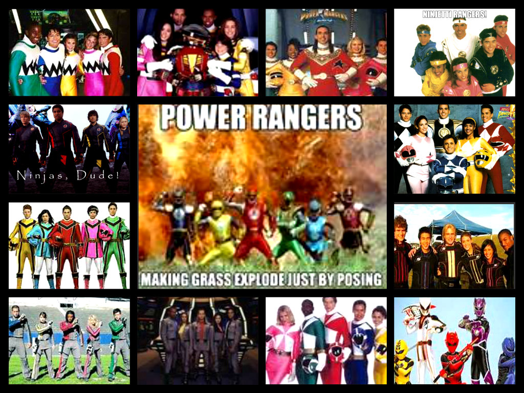 all power ranger series!