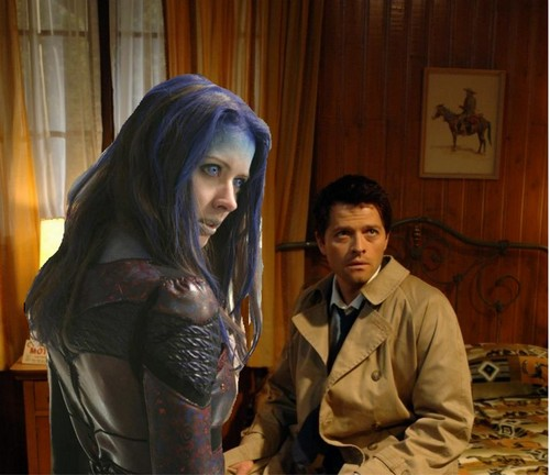 castiel and illyria