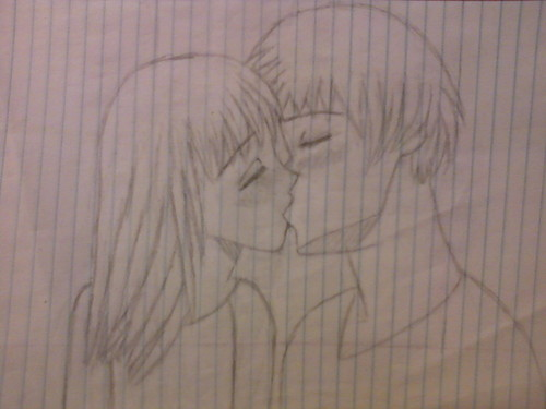 couples drawing