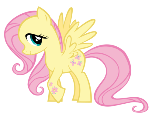 My Little kuda, kuda kecil Friendship is Magic kertas dinding entitled easter fluttershy