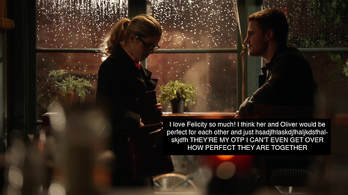 felicity/oliver confession