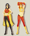 fem robin and kid flash