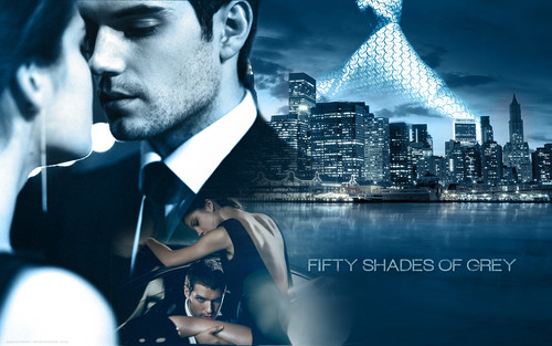 Fifty Shades of Grey wallpaper containing a business suit called Fifty Shades of Grey
