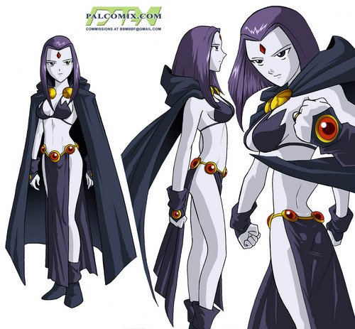 Teen Titans vs. Young Justice fond d'écran called future raven