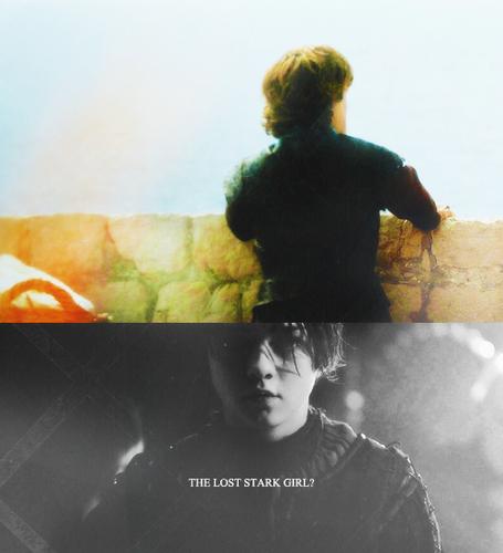Tyrion Lannister & Arya Stark