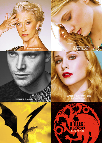 House Targaryen gender swap