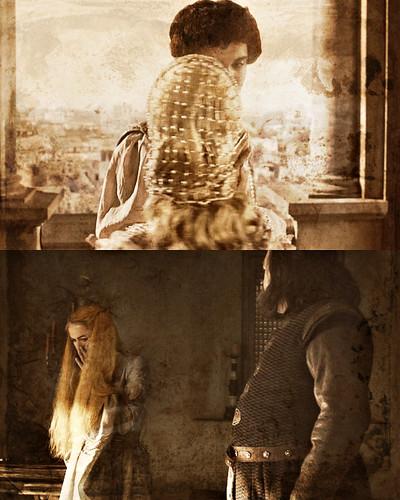 Cersei & Robert/ Myrcella & Trystane