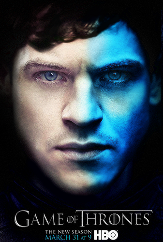 game of thrones wallpaper possibly containing a portrait called Season 3 - Character Poster - Ramsay Bolton