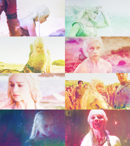 Daenerys Targaryen + Colors Abound