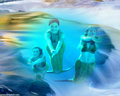 h2o mermaids - h2o-just-add-water fan art