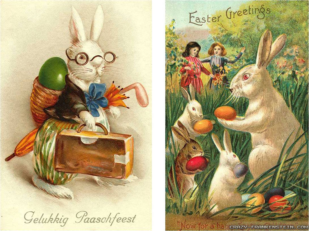 vintage easter bunny - photo #24