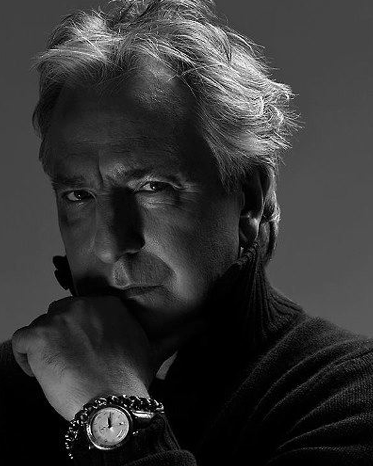 Alan Rickman karatasi la kupamba ukuta titled he's sexy and he knows it