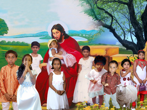 যীশু with children