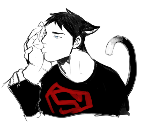 in young justice wallpaper called kitty superboy3