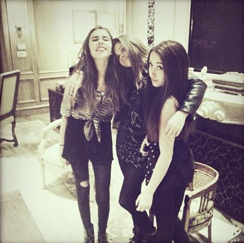 madison beer, sofia richie and spencer malnik :)