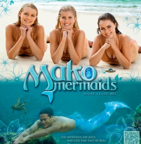 Mako Mermaids wallpaper containing skin called mako mermaids poster