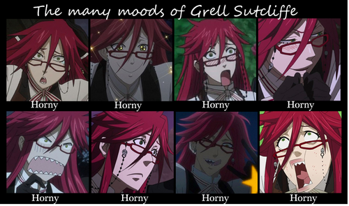 many moods of grell