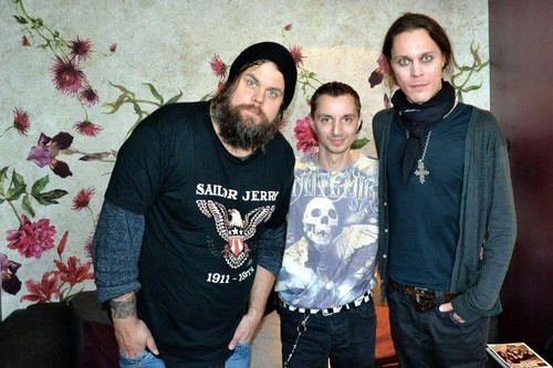 Ville Valo wallpaper containing a jersey, a sweatshirt, and a polo camisa entitled new pictures