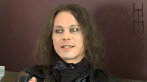 Ville Valo wallpaper containing a portrait titled new pictures