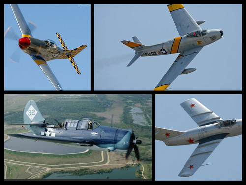 planes collage