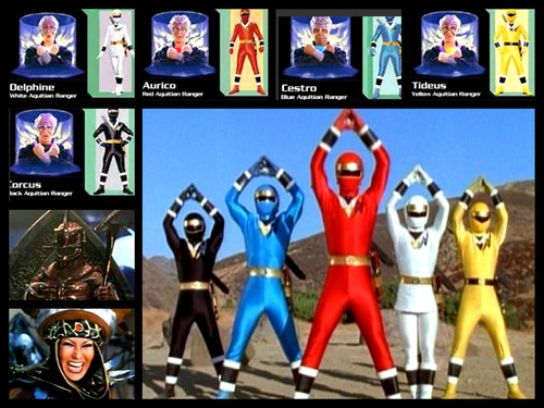 The Power Rangers wallpaper called power ranger alien team!
