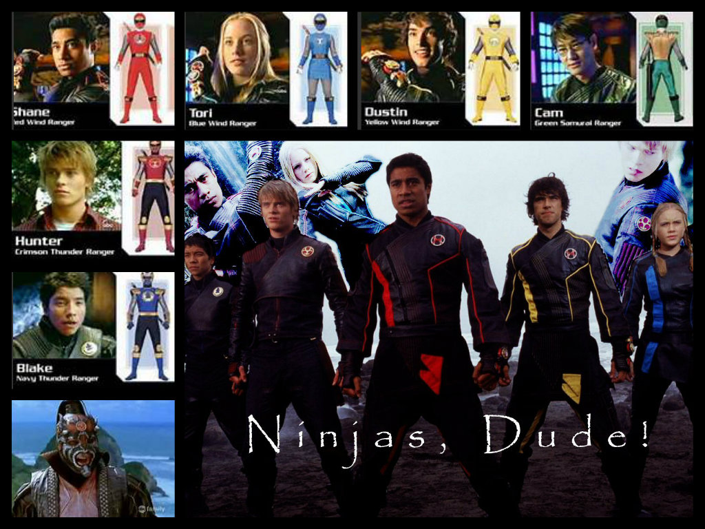 power rangers ninja storm!