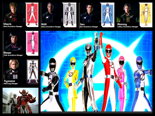 power rangers o.o team!