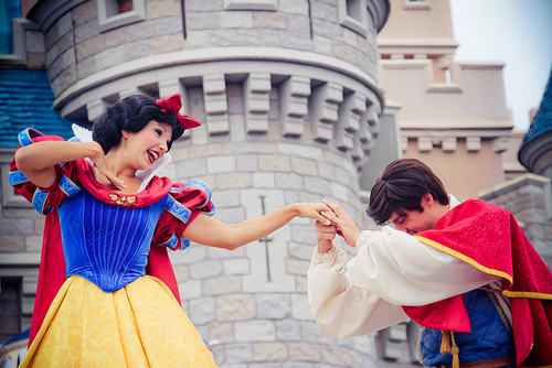 prince and snow white