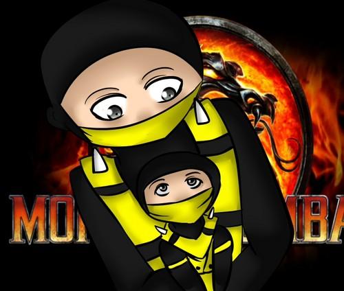 scorpion and scorpion - random anime rp for teens Fan Art