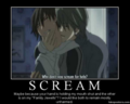 scream... - junjou-romantica photo