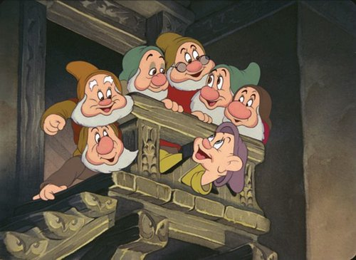 Snow White and the Seven Dwarfs wallpaper containing anime entitled snow white