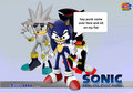 sonic said  - sonic-shadow-and-silver fan art