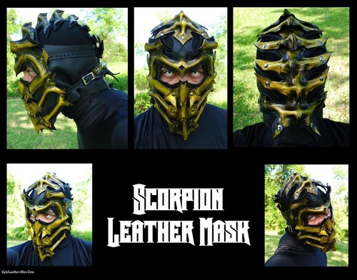 things i'm going to use to make scorpion's outfit