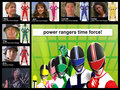 time force team! - the-power-rangers fan art