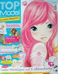 hàng đầu, đầu trang model magazines