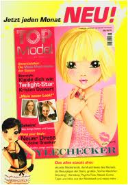 haut, retour au début model magazines