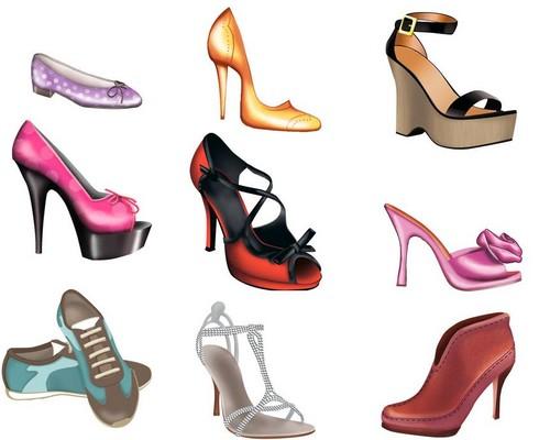 haut, retour au début model shoes